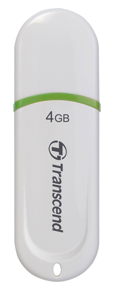 флешка USB Transcend TS4GJF330 4Gb white