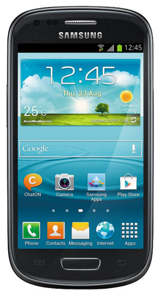 смартфон Samsung GT-I8200 Galaxy S III mini Value Edition 8Gb onyx black