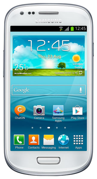 смартфон Samsung GT-I8200 Galaxy S III mini Value Edition 8Gb ceramic white