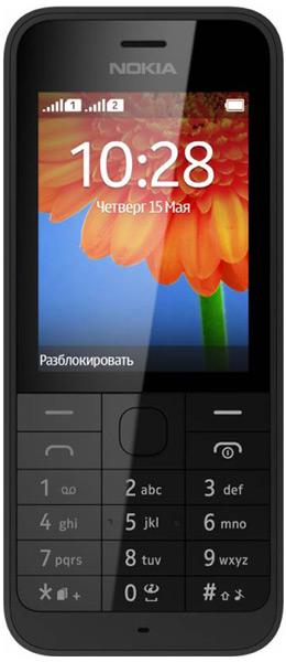 19f67bfb5c3 мобильный телефон Nokia 220 Dual sim black по самой выгодной цене ...