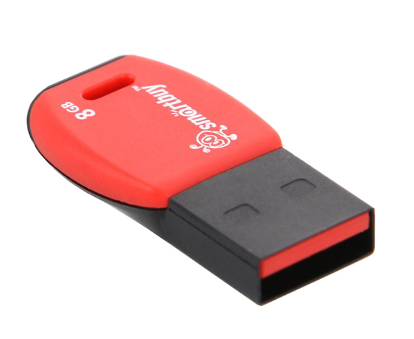 флешка USB SmartBuy Cobra 8Gb red
