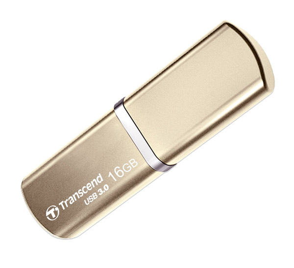 флешка USB Transcend TS16GJF820G 16Gb gold