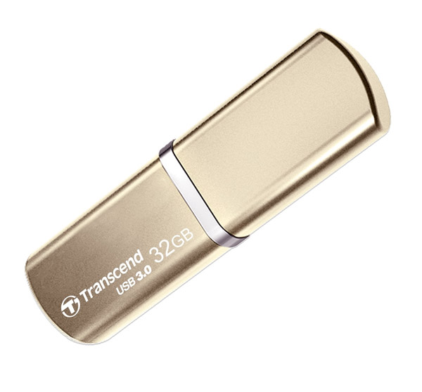 флешка USB Transcend TS32GJF820G 32Gb gold