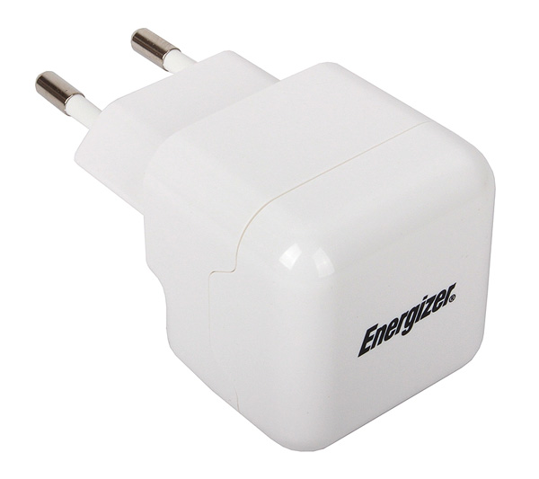 зарядное устройство Energizer AC1UEUHIP2 iPhone 4/iPad 2 2100 mA white