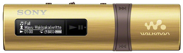 MP3 - плеер Sony NWZ-B183F 4Gb gold