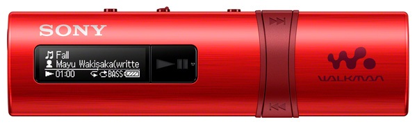 MP3 - плеер Sony NWZ-B183F 4Gb red