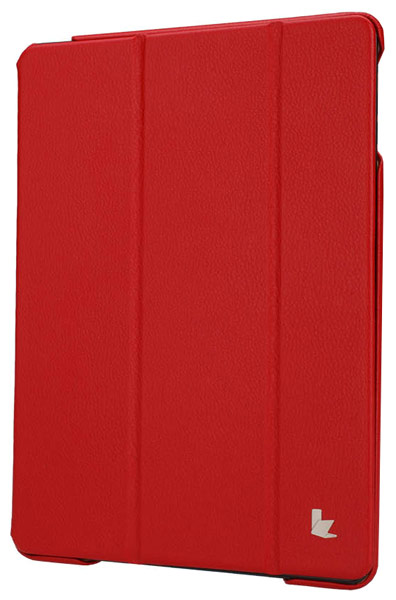 чехол JisonCase Executive iPad Air red