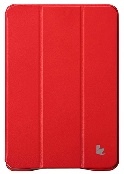 чехол JisonCase Executive iPad Mini with Retina display red