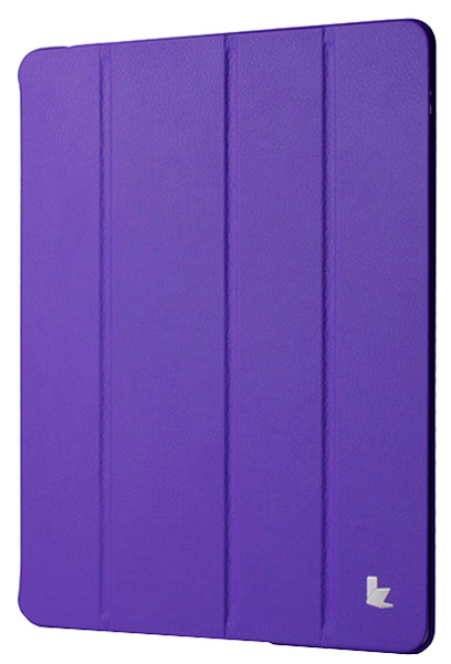 чехол JisonCase NEW iPad 4/iPad new/iPad 2 purple
