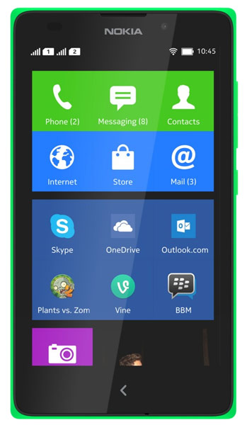 смартфон Nokia XL DS green