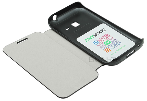 сумка ANYMODE Samsung S6802 Galaxy Ace Duos Folio Case black