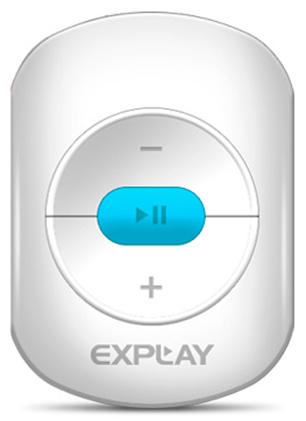 MP3 - плеер Explay A1 8Gb white/blue