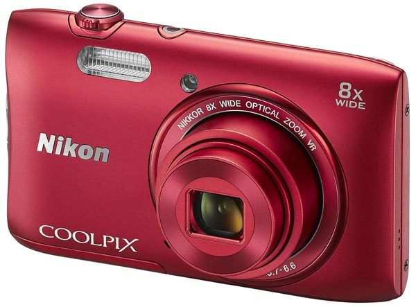 фотоаппарат Nikon Coolpix S3600 red