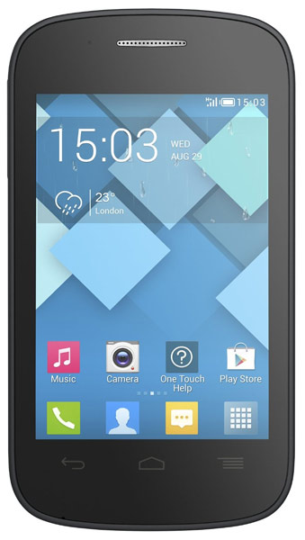 смартфон Alcatel OT4015D POP C1 bluish black