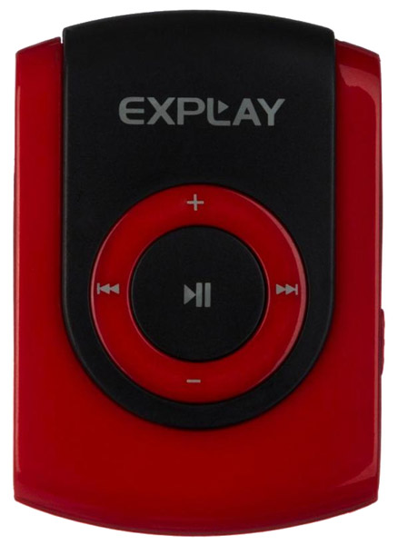 MP3 - плеер Explay Hit 8Gb red/black