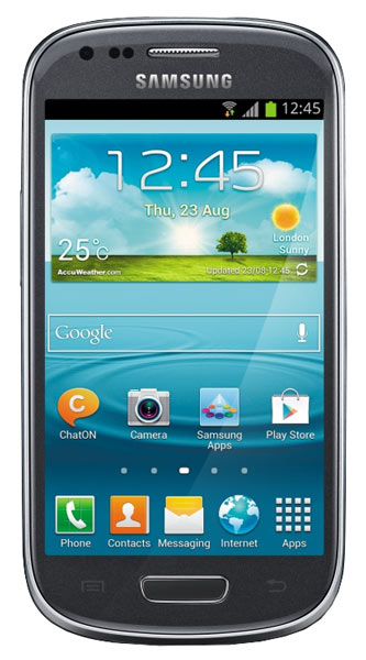смартфон Samsung GT-I8200 Galaxy S III mini Value Edition 8Gb titanium grey