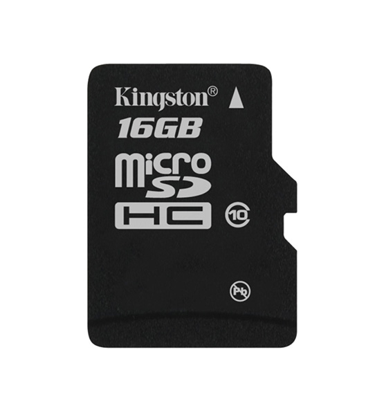 карта памяти Kingston 16Gb microSD Class 10 без адаптера
