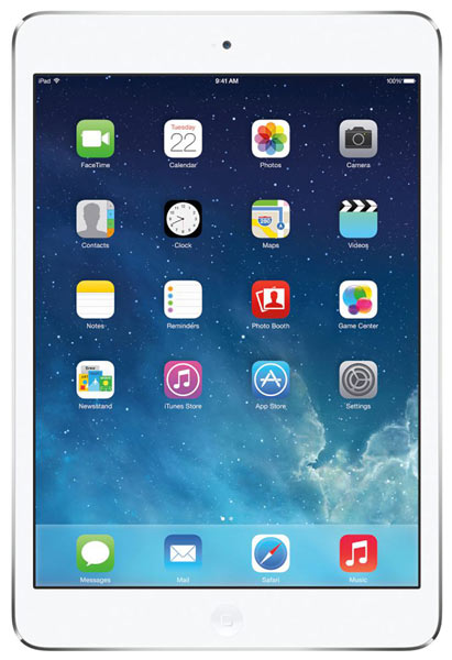 планшетный ПК Apple iPad Air 16Gb Wi-Fi + Cellular silver