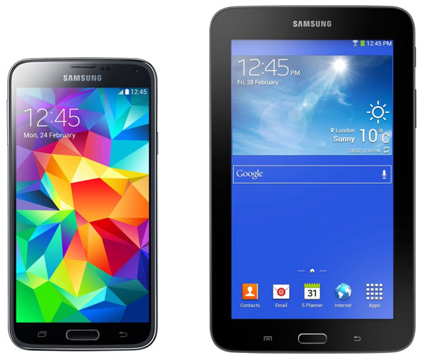 смартфон Samsung SM-G900F Galaxy S5 16Gb + T110 black