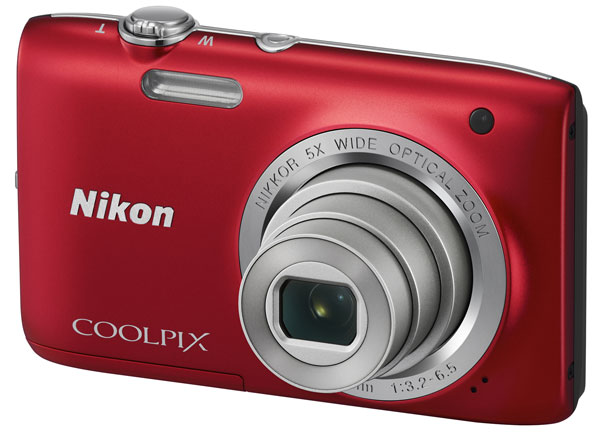 фотоаппарат Nikon Coolpix S2800 red