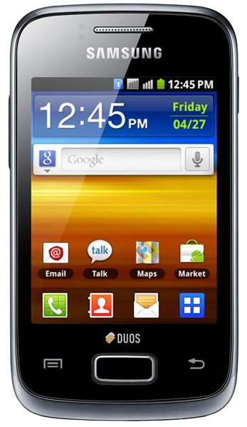 смартфон Samsung GT-S6102 ( Galaxy Y Duos) strong black