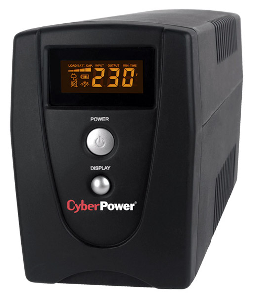 ИБП CyberPower VALUE600ELCD black