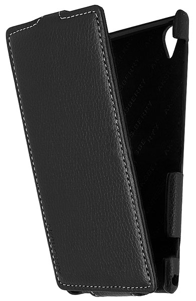 чехол Aksberry Sony Xperia Z1 black