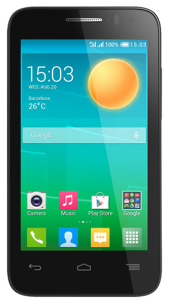 смартфон Alcatel OT4035D POP D3 black/fashion blue