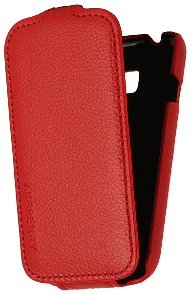 чехол Aksberry Samsung S7262 Galaxy Star Plus red