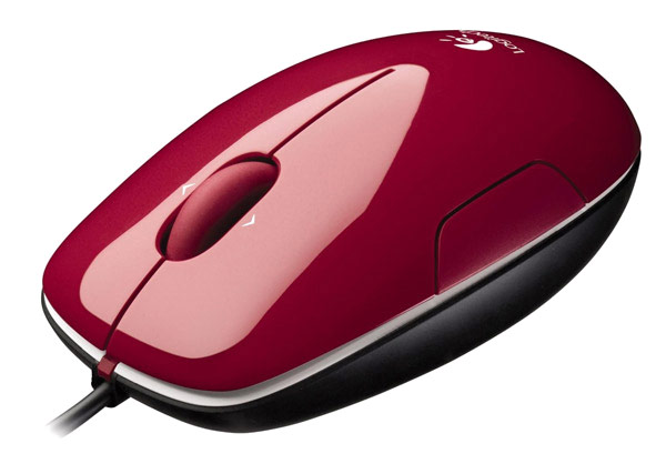 мышь Logitech LS1 red