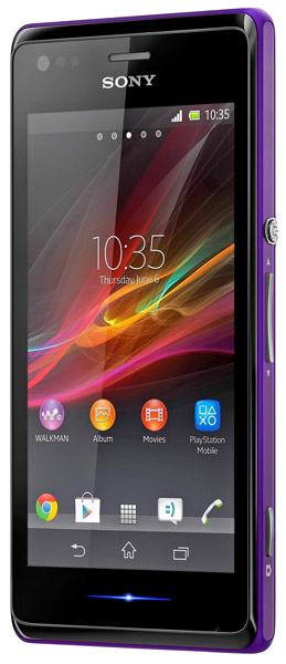 смартфон Sony C2005 Xperia M dual purple