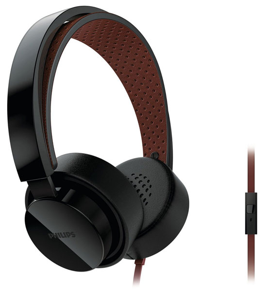 наушники Philips SHL5205 black