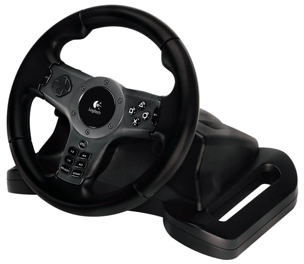 руль Logitech Руль Driving Force Wireless for PS3