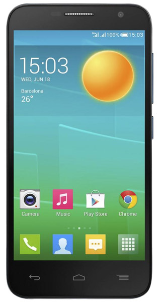 смартфон Alcatel OT6016Х IDOL 2 MINI black/slate