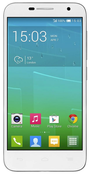 смартфон Alcatel OT6016Х IDOL 2 MINI white/silver