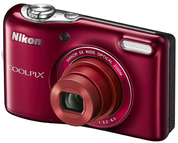 фотоаппарат Nikon Coolpix L30 red