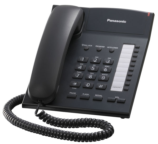 телефонный аппарат Panasonic KX-TS2382RU black