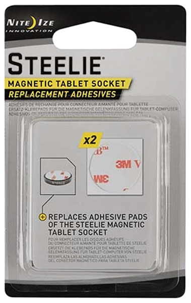 запасные стикеры Nite Ize Magnetic Tablet Socket Replacement Adhesives