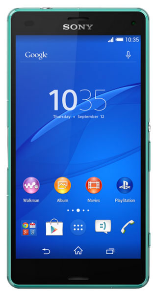 смартфон Sony D5803 Xperia Z3 Compact green