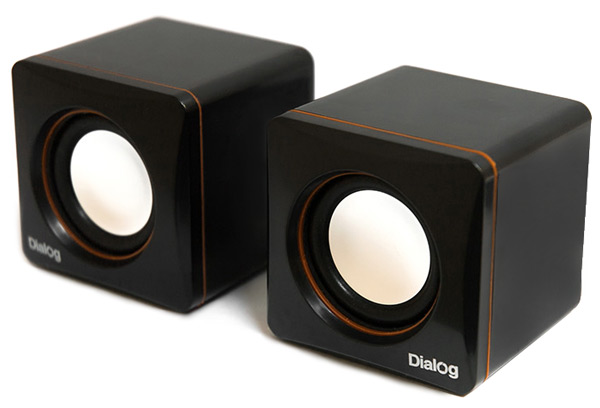 колонки Dialog Colibri AC-04UP black/orange
