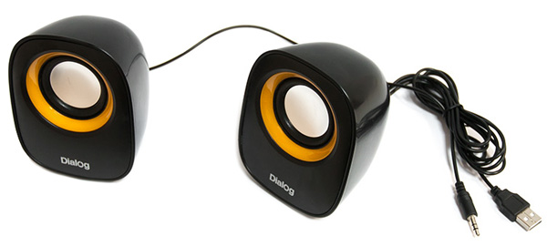 колонки Dialog Colibri AC-06UP black