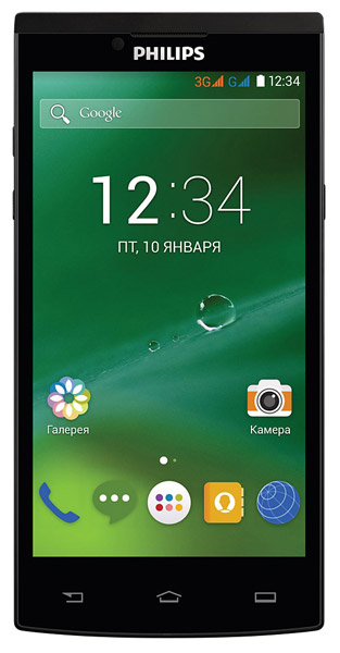 смартфон Philips S398 black