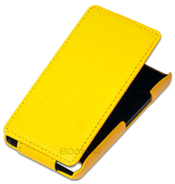 чехол Aksberry LG L65 yellow