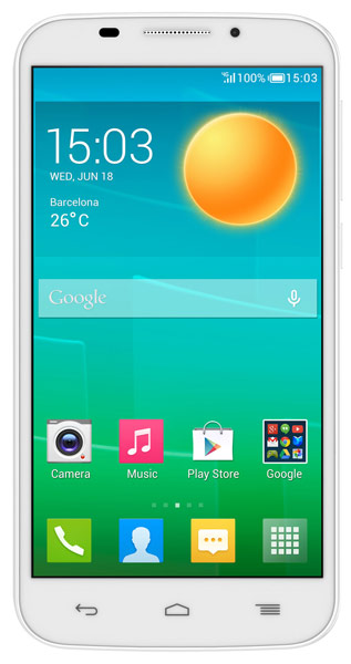 смартфон Alcatel OT7045Y POP S7 white/pure white