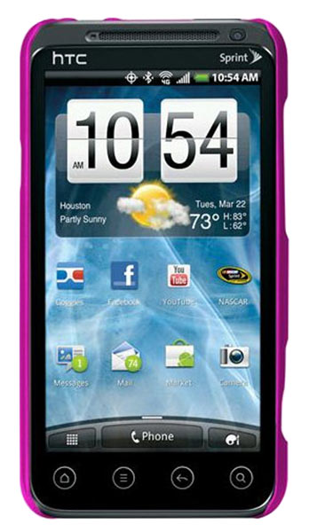 накладка Case-Mate Barely There CM015748 HTC Evo 3D розовый