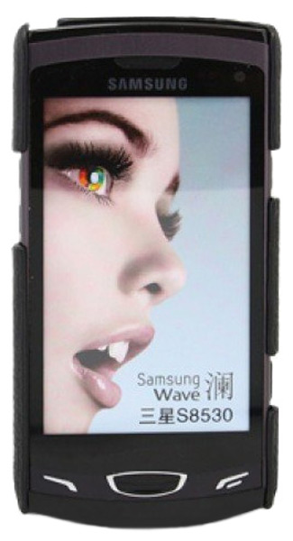 чехол Melkco Samsung S8530 Wave 2 Wave Snap Cover black LC