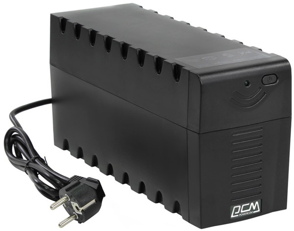 ИБП Powercom RPT-600A EURO black