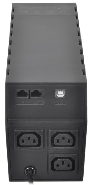 ИБП Powercom RPT-800AP black