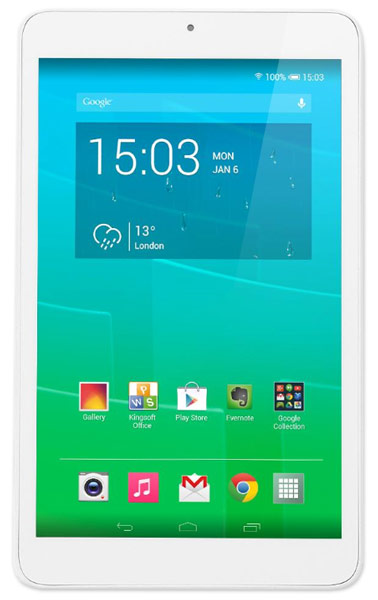 планшетный ПК Alcatel 9005X PIXI 8 full white