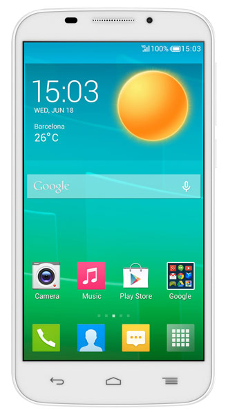 смартфон Alcatel OT7045Y POP S7 white/fashion blue